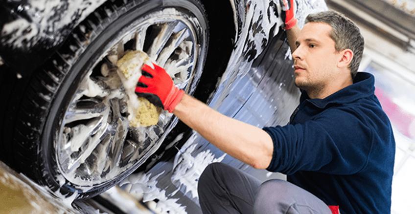 lavagem do seu automóvel