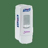 purell alcoll gel doseador saboneteira manual adx-7